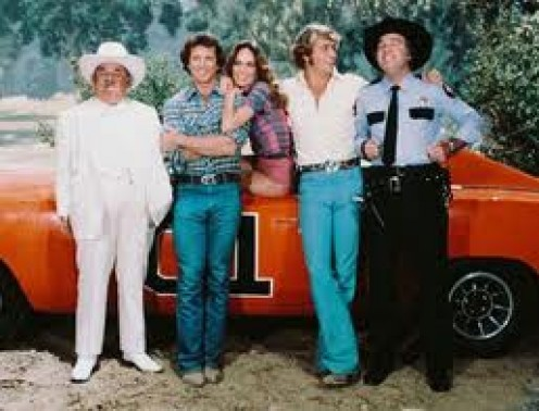 THE DUKES OF HAZZARD IS HOW MOST PEOPLE PERCEIVE PEOPLE FROM THE SOUTH. I CANNOT ARGUE WITH THIS GROUP OF GOOD-LOOKING PEOPLE.