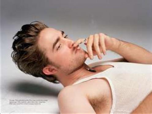 The glamour of smoking.
