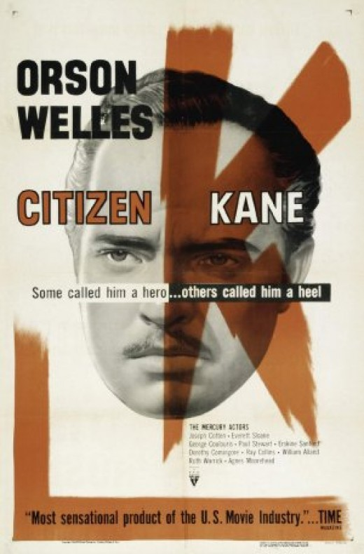Citizen Kane (1956 RKO rerelease Poster)