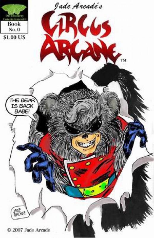Reprint cover of Jade Arcade's Circus Arcane.