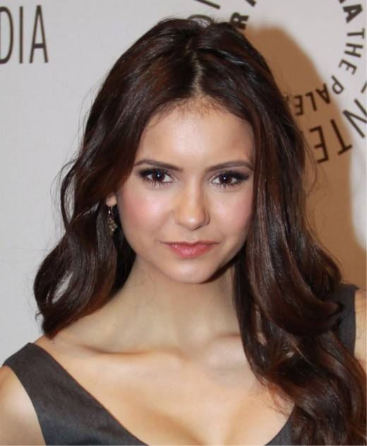 Nina Dobrev, star of The Vampire Diaries