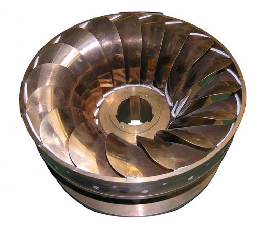 Rotor of a water turbine
