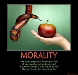 how the society places morality on people If not for religion, where do morals and values come from (1) thanks its their society- the people they live with that impart their morals its the same for atheists the fundamental flaw many people make is in viewing morality and ethical behavior as being inexorably linked to.