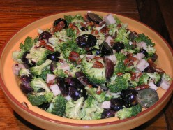 Simple Broccoli Grape Turkey Salad