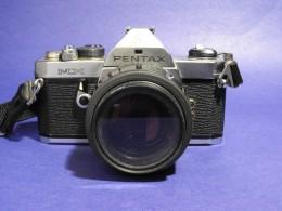 Pentax MX, Manual film based camera.