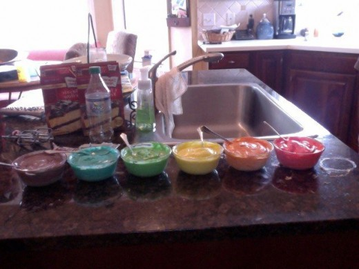 Bowls ready to go!