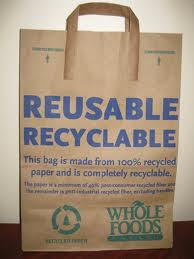 Whole Foods' Recycled Paper Bags