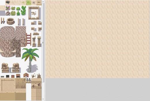 A new, desert town themed tileset.