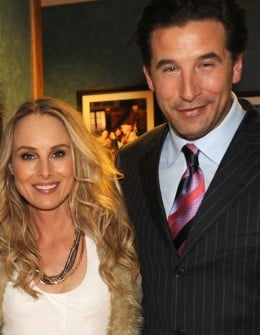 Chynna and husband Billy Baldwin--one of the four famous Baldwin brothers