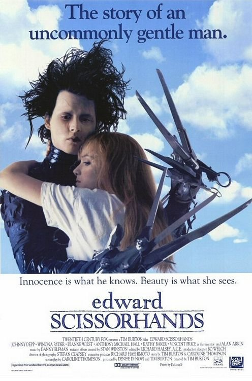 Edwards Scissorhands Directed by Tim Burton