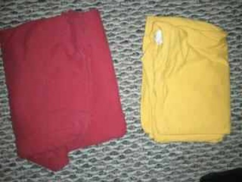 Choosing between shirts helps a child to build decision making skills that will help them to become successful adults.