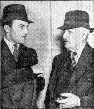 Parker and his son at the time of their arrest
