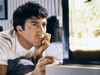 Benjamin (Dustin Hoffman) in the Graduate