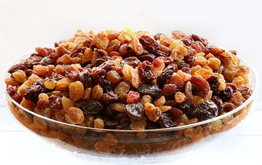 Just chop those raisins, and add some lard and tobacco!