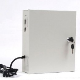 12v security camera power supply secure panel