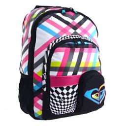 Roxy Noble Trek Backpack in White Color Combo http://www.airlineintl.com/product/roxy-noble-trek-backpack-2