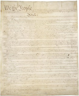 U.S. CONSTITUTION, Page 1