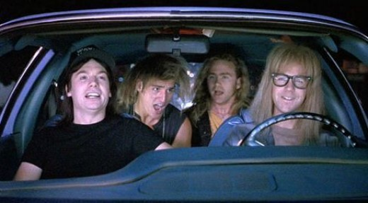 Wayne's World. Wayne's World. Party time. Excellent.