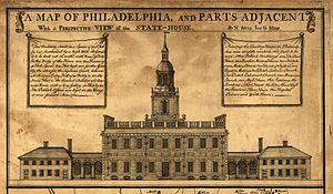 INDEPENDENCE HALL, PHILADELPHIA, 1787