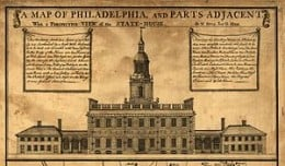 INDEPENDENCE HALL, PHILADELPHIA, 1787