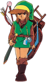 Link in Legend of Zelda