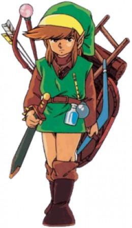 Link in Legend of Zelda
