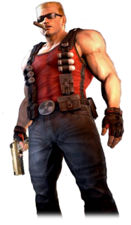 Duke Nukem from the game series
