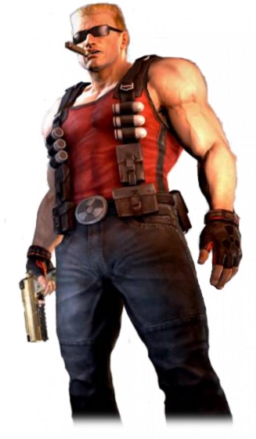 Duke Nukem from the game series
