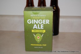 The Copernicus Primordial Pop Ginger Ale kit.