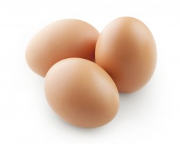 Eggs and dairy products are good sources of Vitamin B.