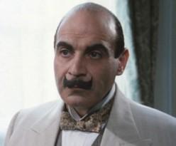 Hercule Poirot as played by David Suchet.