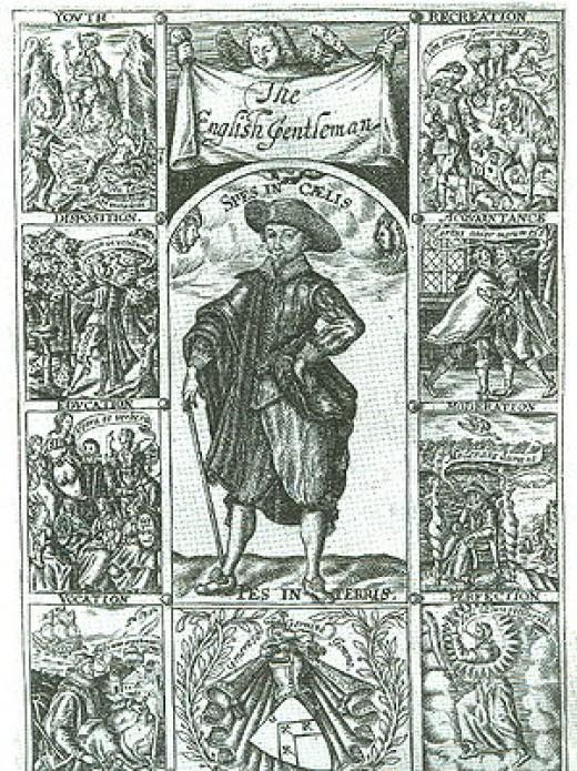 Richard Brathwait's - The Complete English gentleman (1630). Showing the qualities, of a gentleman
