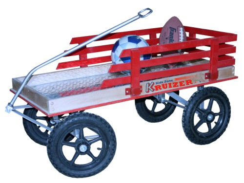 Red Coaster Wagon