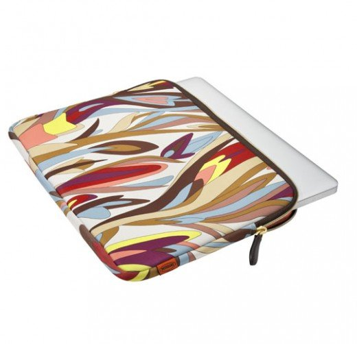 "A ""Missoni""  laptop case."