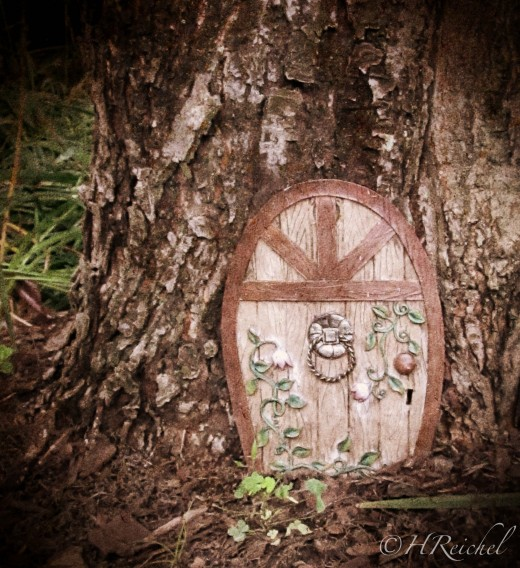 "Day 10 extra- a ""fairy door"" see the amazon link if you want your own :)"