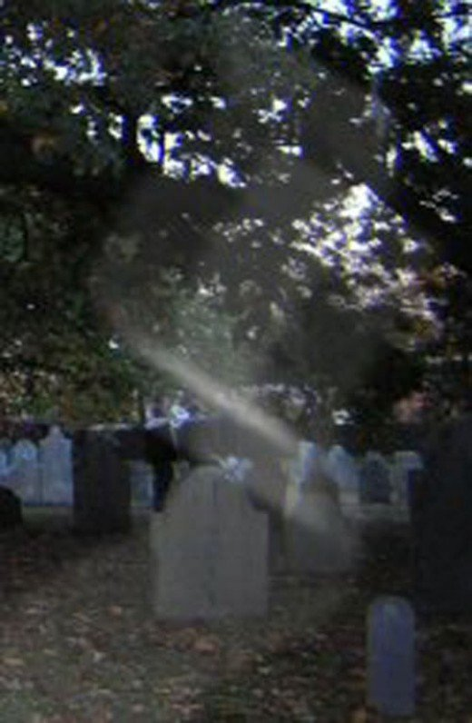 Another strange mist at a Haunted Salem Cemetery