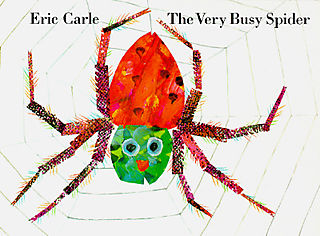 The Very Busy Spider, another great book by the prolific Eric Carle