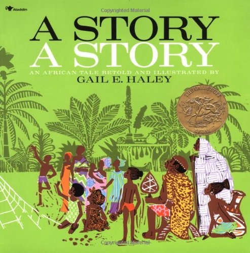 A Story A Story featuring the African trickster, Ananse the spider, is another award-winning multicultural folktale.