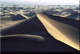 The sands of time.