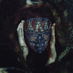 The Mask We Hide Behind from Oriellea  Source: flickr.com