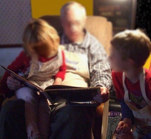 Time used reading to children is well-spent.