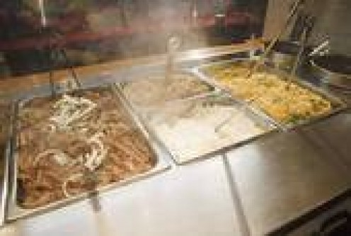 CUSTOMERS LOVE THE VARIETY OF FOODS IN AN ALL-YOU-CAN-EAT-BUFFET.