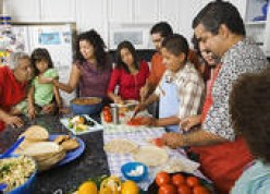 FAMILIES LOVE THE CONVENIENCE OF AN ALL-YOU-CAN-EAT-BUFFET.