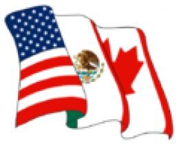 A North American Free Trade Agreement (NAFTA) Logo.