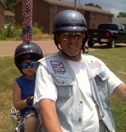 Rolling Thunder Ch. 6 Chairman of the Board, Billy, and junior member, Ryder, help the families of POW and MIA troops.