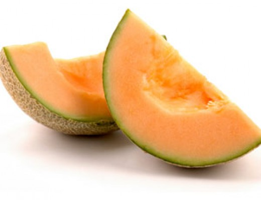 cantaloupe melon infected with listeria