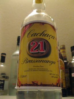 An example of cachaca