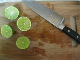 Two cut limes
