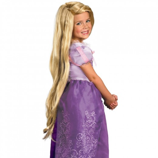Officially licensed wig from Disneys hit movie Tangled