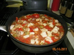 Easy Chicken Recipe: Chicken Cacciatore Deconstructed for Lunch Box